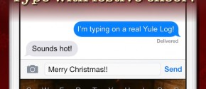 Yule Log Keyboard - Merry Christmas Typing!